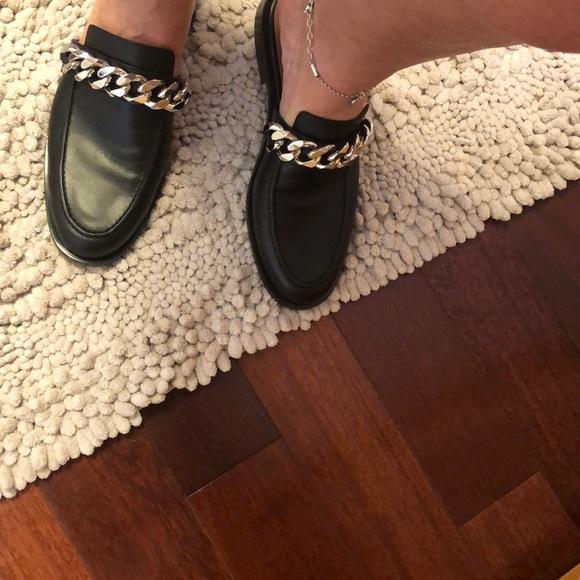 ad7d44ad3a88 Givenchy Chain Slide Loafers